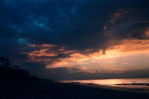 Baltic Sea Sunset by Aaorin