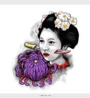 Geisha Tattoo by MRojekcom
