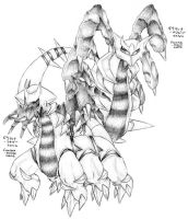 Giratina Formes - request by Garmmon