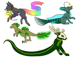 Creature adopts - (CLOSED) by Summer-Boy
