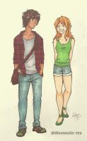 total drama-noah and izzy by dinosauris--rex