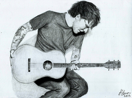 Ed Sheeran by KarolBarros