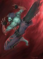 Darkstalkers_UDON_comp_entry by zombie-ninja