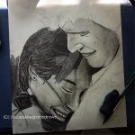 Hazel and Augustus WIP by TheAugustJayhawker