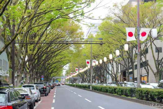 Perspective in Tokyo by Rikitza
