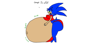 Request Overstuffed Sonica by TruePhazonianForce