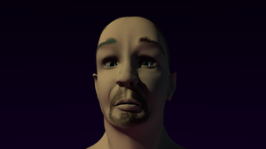 A Face, Textured by TheBigDaveC