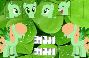 Shining Shamrock  Official Reference by 0rca-Trash