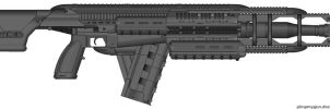 Rail Assault Rifle by M60RPD