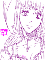 Death Note Misa by 0thefoolnever