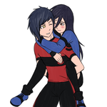 Piggyback ride by PatinFTW