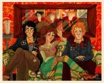 oh, you golden trio you by comfortablylaura