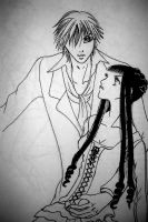 Kyohei and Sunako by StickyRice43