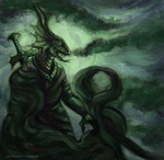 Emerald Serpent by ScarecrowSpook