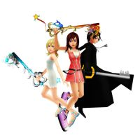 MMD- Angels of war by ultimekingdomheartsf