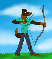 Sammy likes archery by CursedFire
