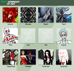 2014 Summary Of Art by RubyPheonix
