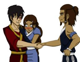 Zutara Week - Family by happyzuko
