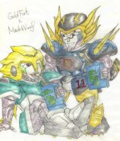 MachWindy and GoldFoot by eykxxmicah