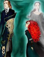 Bill and Kelly fantasy genre role pair by Selinelle