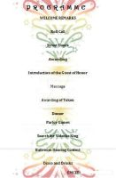 Programme Christmas Party Page 2 by Mariannedee