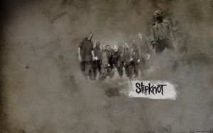 Slipknot Wall by MozartXD