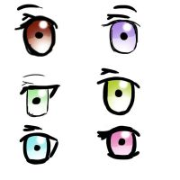 Eye Coloring Practice by Ssu-Chan