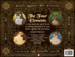 The Four Elements Box Back by JenTheThirdGal
