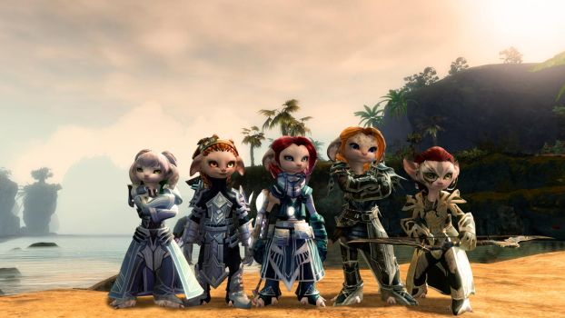 Guild Wars 2: My Asura Chars v2.0 by MADt2