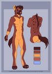 Spotted Hyena Design by Silvixen