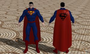 WIP DCUO Superman- nu52 by Red-Lantern-2814