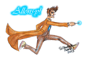 Allons-y! by Chrisily