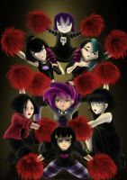 Evil Cheerleaders. by AalienoOr