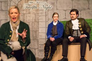 Feste sings for Orsino and Viola by Labrug