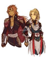 Rise of the Sands - Zelda AU by Lineith