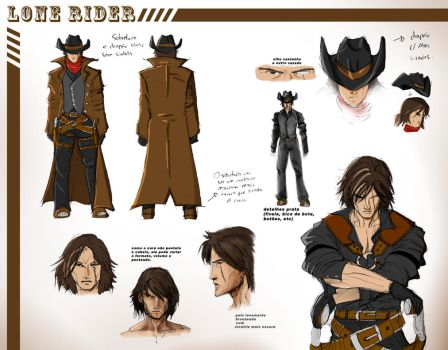 Lone Rider Character Sheet by janusmemory