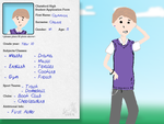 Chatsford High Application: Cammron Chance by pluff401