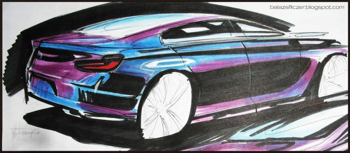 Bmw 6er sketch by Balu32