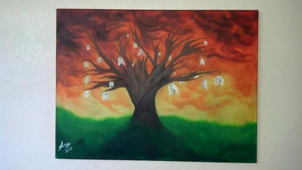 Tree of Wishes by Legna-Siul