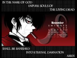 Hellsing November Wallpaper by Vashtastic
