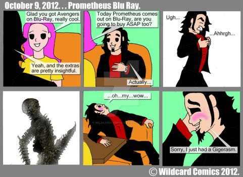 Promethes Fan Me by wildcardcomics
