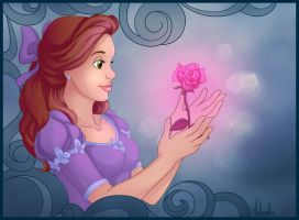 The Enchanted Rose by madam-marla