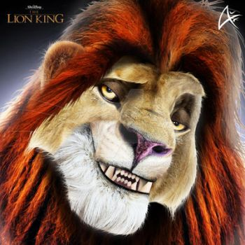DrGaster 31 645 Adult Simba Portrait COMMISSION The Lion King By Andersiano