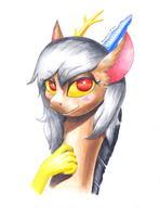 Eris Colorpencil by RenateThePony