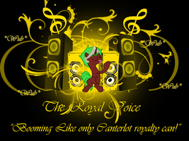 The Royal Voice (Wallpaper) by TagTeamCast