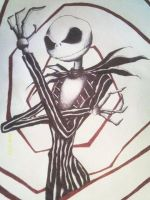 Jack Skellington by SKETCHNIFICENT
