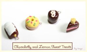 Chocolatly and lemon sweets by Tonya-TJPhotography