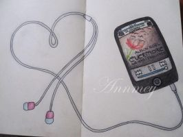 MOLESKINE - Evermore is love by Annmey