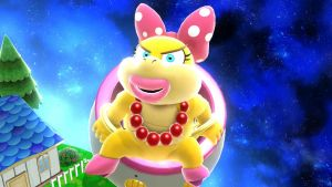 Super Wendy O. Koopa Galaxy by tallsimeon2003