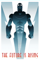 ROBOT 1 art deco by rodolforever